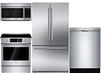 Bosch Kitchen Package Upgrade - Gas