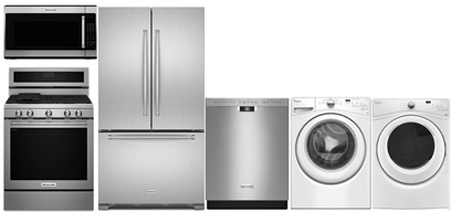 KitchenAid French Door Kitchen and Laundry - Gas