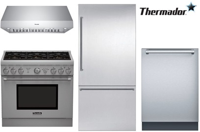 Thermador Pro Kitchen Package - Dual Fuel