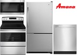 Amana Stainless Steel Kitchen - Electric
