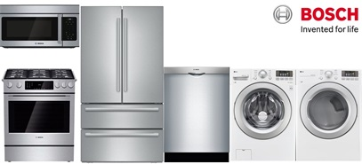 Bosch Slide-In Kitchen and Laundry - Gas