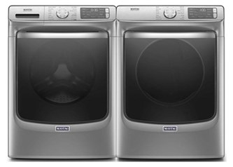 Maytag Metallic Slate Laundry - Gas