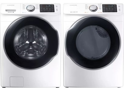 Samsung Steam Laundry Pair - Electric