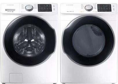Samsung Steam Laundry Pair - Gas