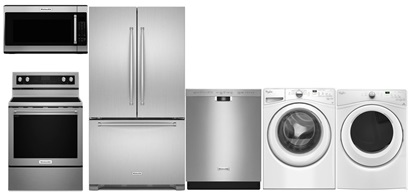 KitchenAid French Door Kitchen and Laundry Upgrade - Electric