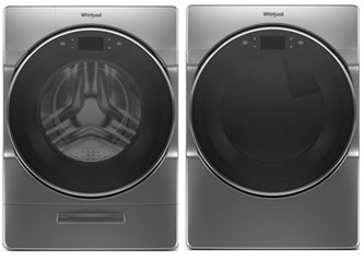 Whirlpool Premium Laundry Chrome Shadow - Electric