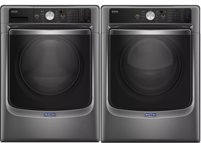 Maytag Maxima Laundry Package in Slate - Gas
