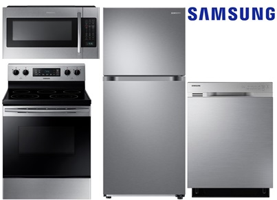 Samsung Has A Stylish Stainless Steel Kitchen Package. The Refrigerator Has  Twin Cooling, So The Air Of The Refrigerator And Freezer Do Not Co Mingle.