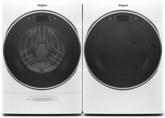 Whirlpool Premium Laundry White - Gas