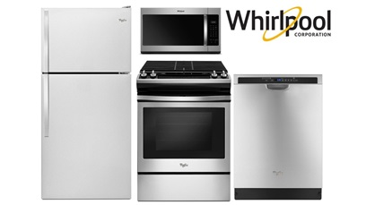 Whirlpool 30 Inch Top Mount Front Control Package