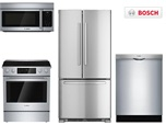 Bosch Basic Slide In Kitchen Package - Electric