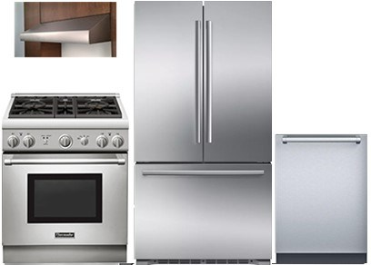 Thermador 30-inch Pro Kitchen Package