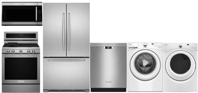 KitchenAid French Door Kitchen and Laundry Upgrade - Gas