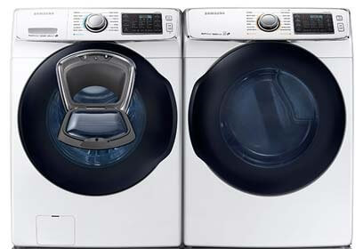 Samsung Steam Laundry Pair Upgrade - Gas