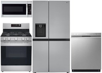 LG Side by Side Kitchen Package - Gas