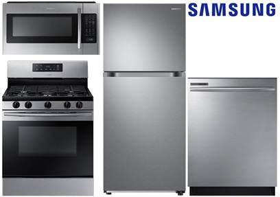 Samsung Top Mount Refrigerator Package - Gas