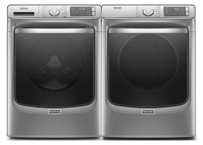 Maytag Metallic Slate Laundry - Electric