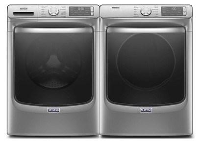 Maytag Metallic Slate Laundry - Electric