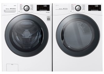 LG Premium Laundry White - Electric