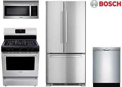 Bosch Freestanding Kitchen - Gas