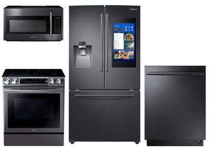 Samsung Black Stainless Steel Package - Electric