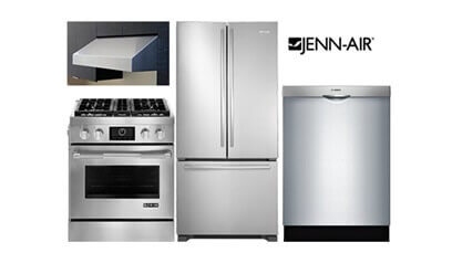 Jenn-Air Pro Kitchen Package - Dual Fuel
