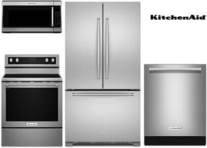 kitchenaid upgrade stainless steel appliance package