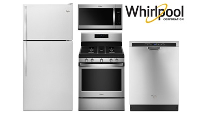Whirlpool 30 Inch Top Mount Package - Gas