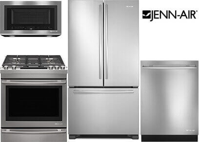 Jenn Air Double Oven Range Package