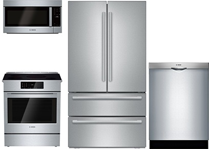 Bosch Slide-In Kitchen Upgrade Package - Induction