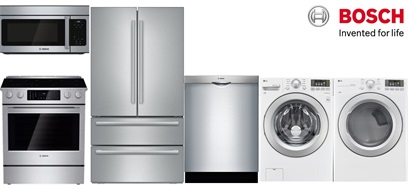 Bosch Slide-In Kitchen and Laundry - Electric