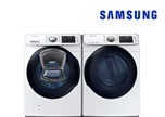 Samsung Steam Laundry Pair Upgrade - Gas