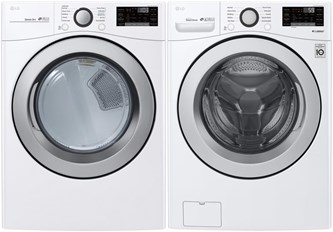 LG Smart Laundry Pair - Gas