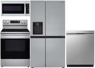LG Side by Side Kitchen Package - Electric