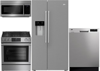 Beko Side by Side Kitchen Package - Gas