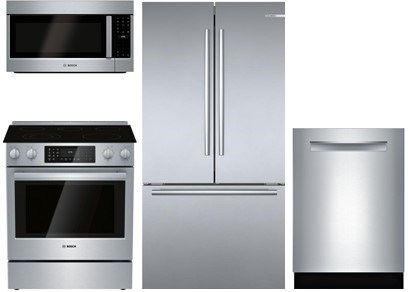 Bosch Slide-In Kitchen Package - Electric