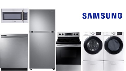Samsung Top Mount Package Kitchen and Laundry - Electric