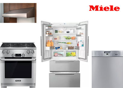 Miele Luxury Stainless Steel Kitchen Package
