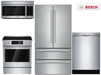 Bosch Slide-In Kitchen Package - Gas