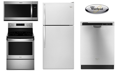 Whirlpool 30 Inch Top Mount Package - Electric
