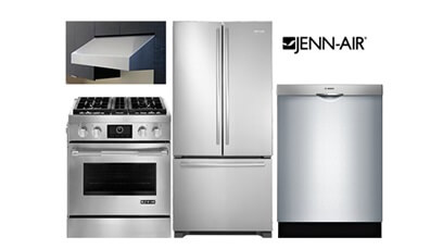 Jenn-Air Stainless Pro Kitchen - Gas