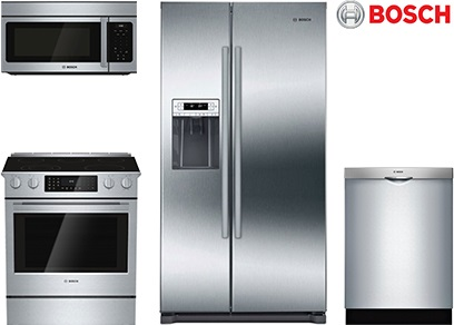 Bosch Side-by-Side Kitchen Package - Electric