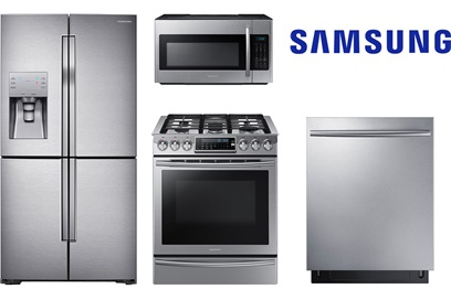 samsung slidein and 4door counter depth package gas