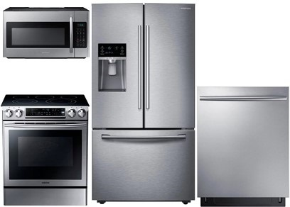 Samsung Slide-In and Counter Depth Kitchen - Electric