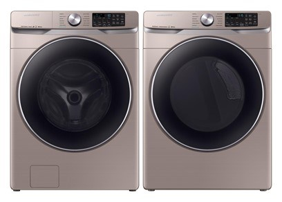Samsung Steam Laundry Champagne - Gas
