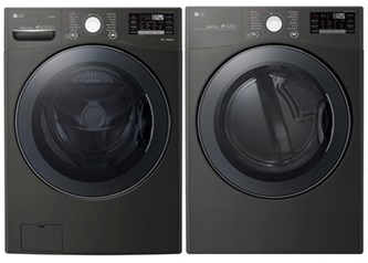 LG Premium Laundry Black Steel - Electric