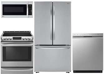 LG Counter Depth Kitchen Package - Gas