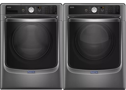 Maytag Maxima Laundry Package in Slate - Electric