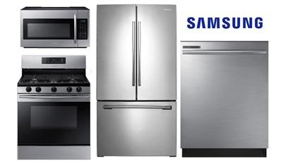 Samsung French Door Kitchen Package - Gas