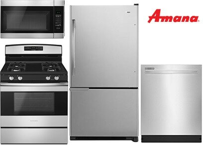 Amana Stainless Steel Kitchen - Gas